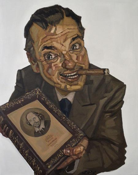 005_Cerero Molina, William Shakespeare, 92 x 73 cm, oleo sobre lino, 2016 copia