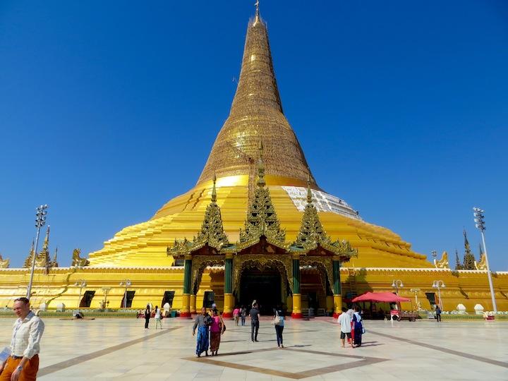 1 FOTO) La Pagoda Uppatasanti