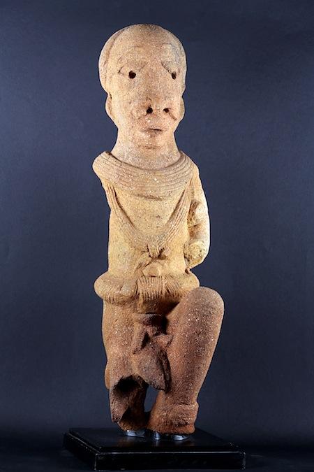1-Statua maschile cultura Nok