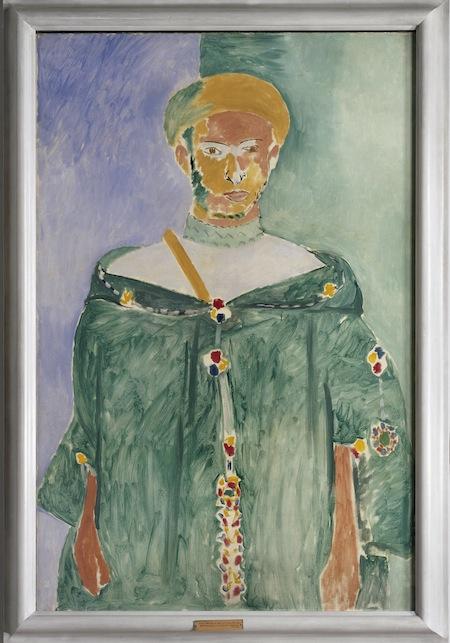 10 - Henri Matisse - Rifano in piedi (o Marocchino in verde) copia