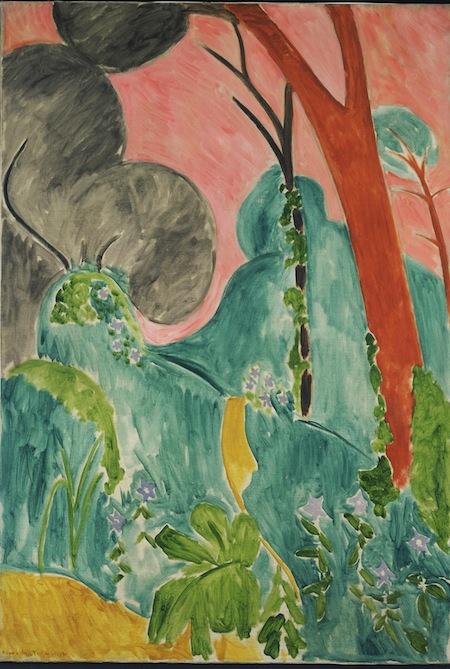 13 - Henri Matisse - Pervinche (o Giardino marocchino) copia