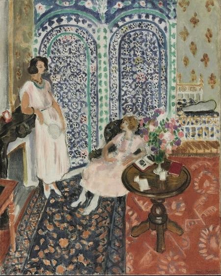 14 - Henri Matisse - Il paravento moresco copia