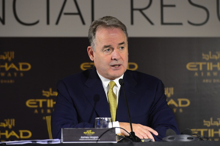 2) James Hogan, presidente e ceo Etihad Airways