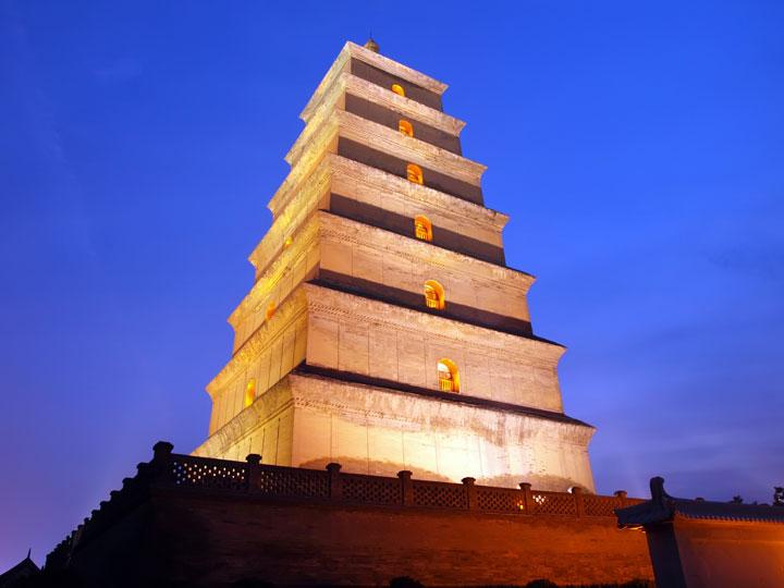 viaggio cina xian provincia shaanxi pagoda grande oca selvatica emotions magazine rivista viaggi turismo