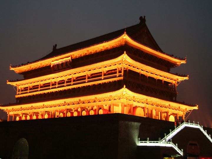 viaggio cina xian provincia shaanxi torre del tamburo emotions magazine rivista viaggi turismo