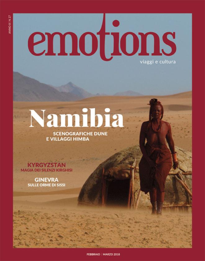 emotions magazine rivista viaggi e turismo febbraio-marzo 2018 anno8 n27