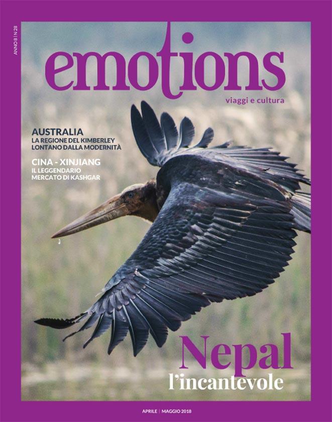 emotions magazine rivista viaggi e turismo aprile-maggio 2018 anno8 n28