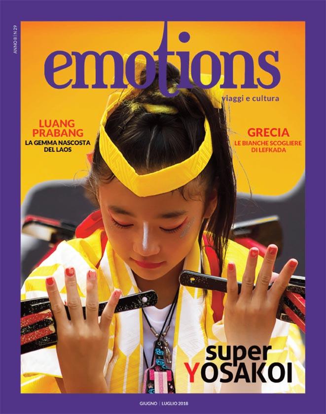 emotions magazine rivista viaggi e turismo giugno-luglio 2018 anno8 n29