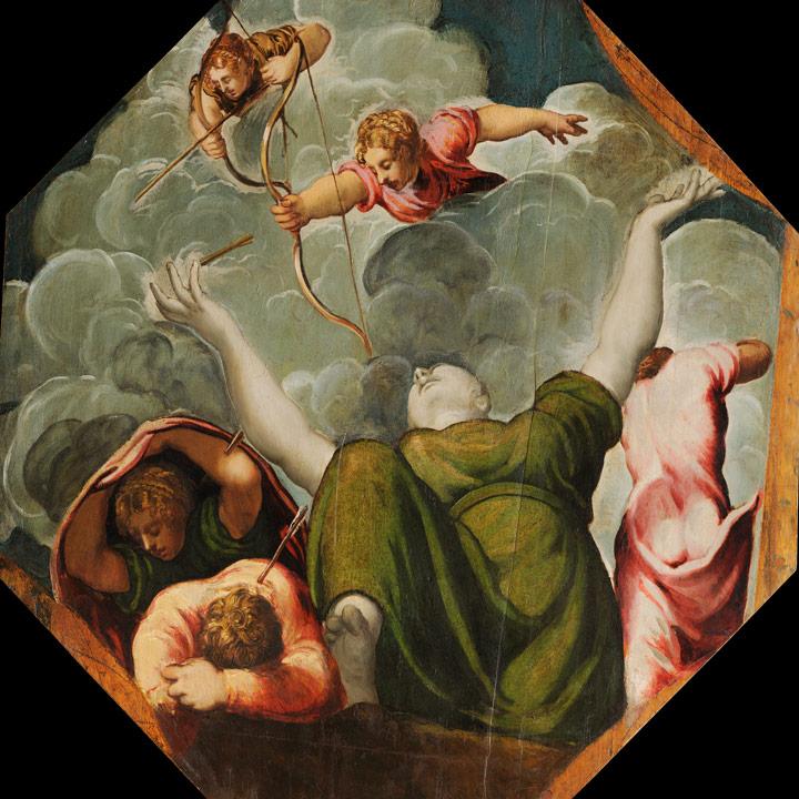 Tintoretto Strage figli di Niobe - mostra tintoretto venezia - emotions magazine - rivista viaggi - rivista turismo
