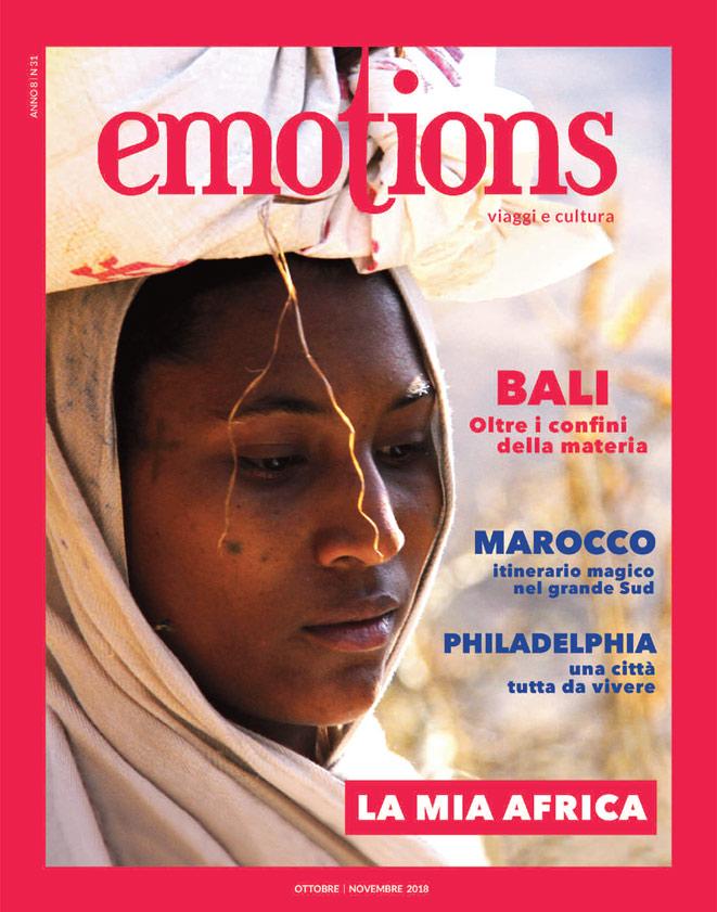 emotions magazine rivista viaggi e turismo ottobre-novembre 2018 anno8 n31