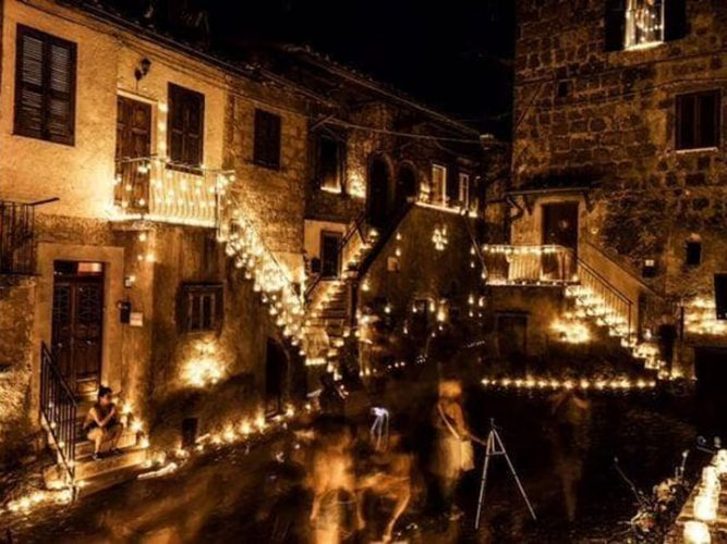 notte delle candele - vallerano - emotions magazine - rivista viaggi - rivista turismo