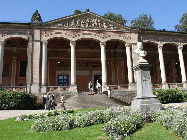 Baden-Baden - Trinkhalle complesso termale - viaggio baden germania - emotions magazine - rivista viaggi - rivista turismo
