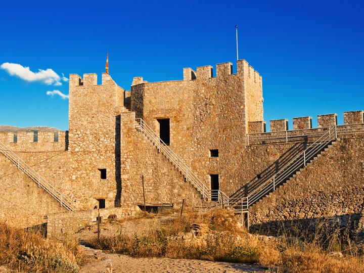 viaggio macedonia - fortezza dell'imperatore Samuil a Ohrid in Macedonia - emotions magazine - rivista viaggi - rivista turismo