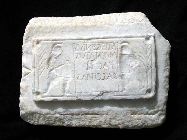 4. Stampo in marmo per oggetti in vetro_ Miscenio ampliato di Salona copia