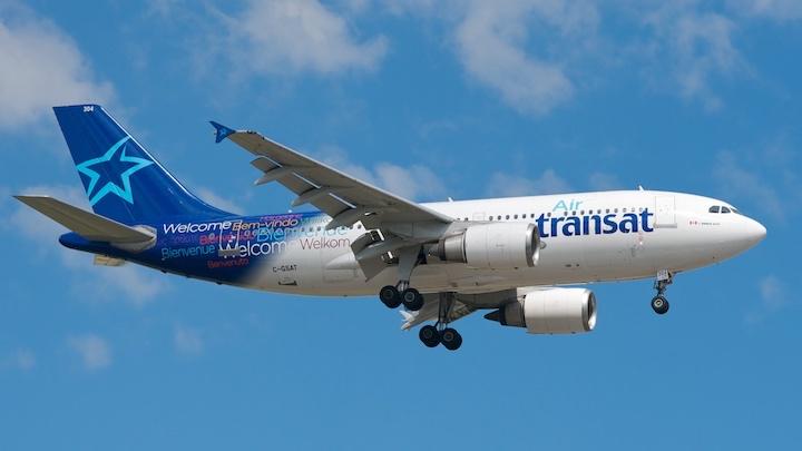 Landing Toronto-Pearson