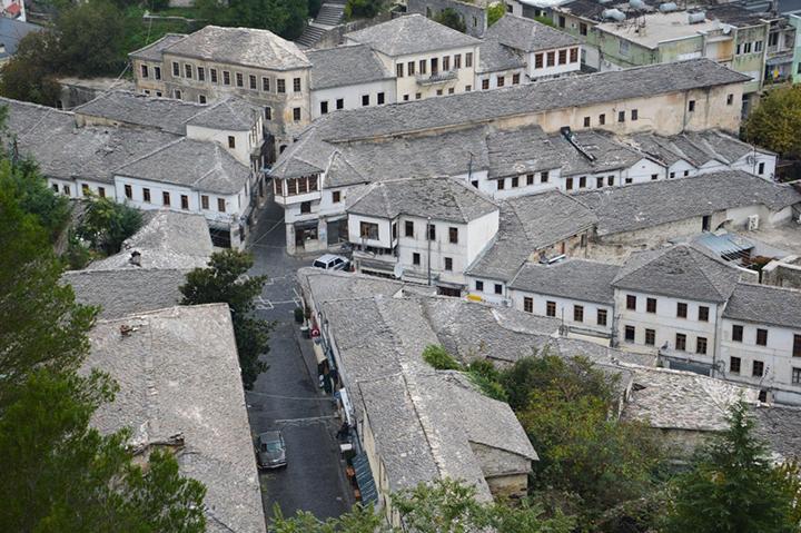 Albania - l.antica Gijrokastra copia