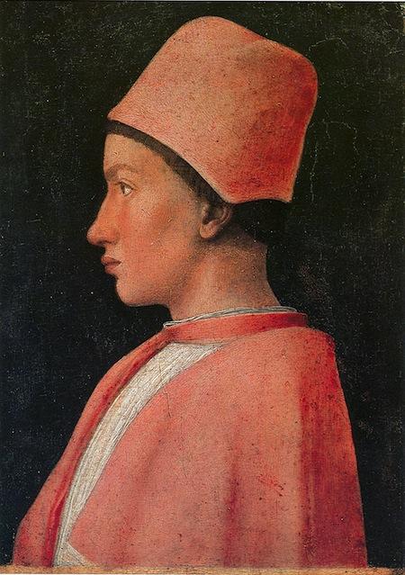 Andrea Mantegna, Il Cardinale Francesco Gonzaga copia