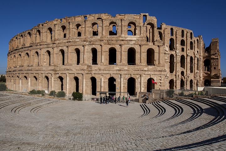 Anfiteatro a El Jem copia