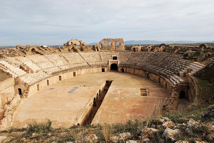 Anfiteatro a Uthina copia