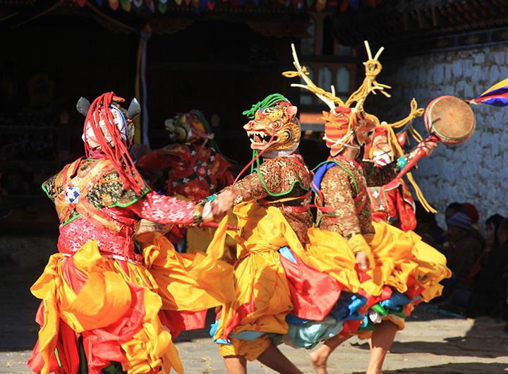 BHUTAN - festival