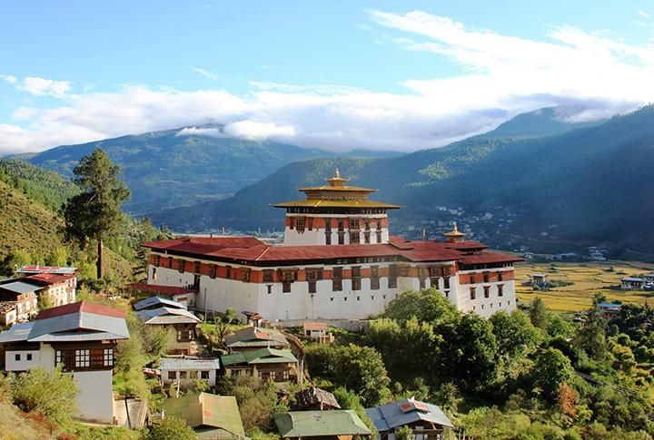 BHUTAN - monastero