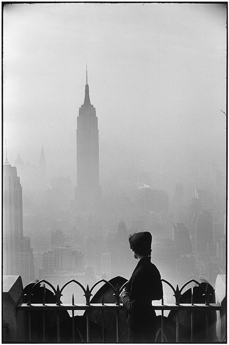 USA. New York City. 1955. Empire State Building.