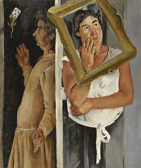 f-pirandello-donna-con-salamandra-1928-1930-olio-su-tela-cm-93x80