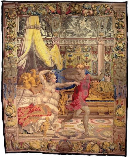 Giuseppe fugge dalla moglie di Putifarre copia