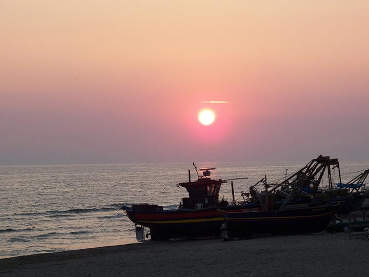 I tramonti rosa Torvajanica 2
