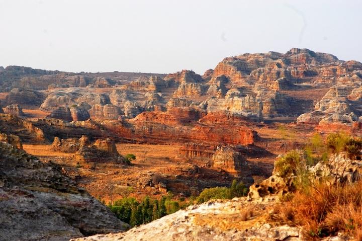Madagascar, Isola rossa