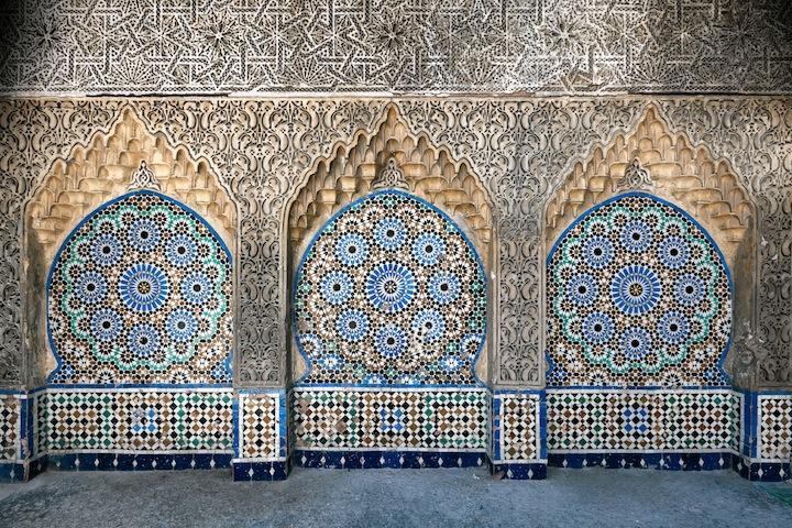 Fontana alla porta Bab el-Aassa
