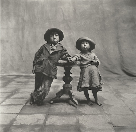 PENN, Cuzco Children, 1948 copia