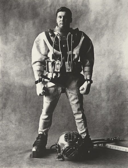 PENN, Deep-Sea Diver, New York, 1951 copia