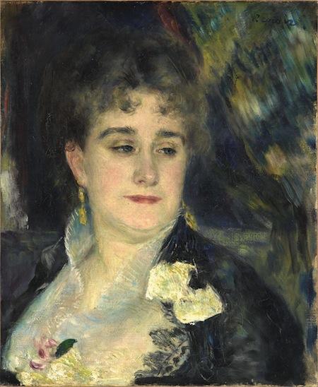 RENOIR, Madame Georges Charpentier, 1876-77, olio su tela