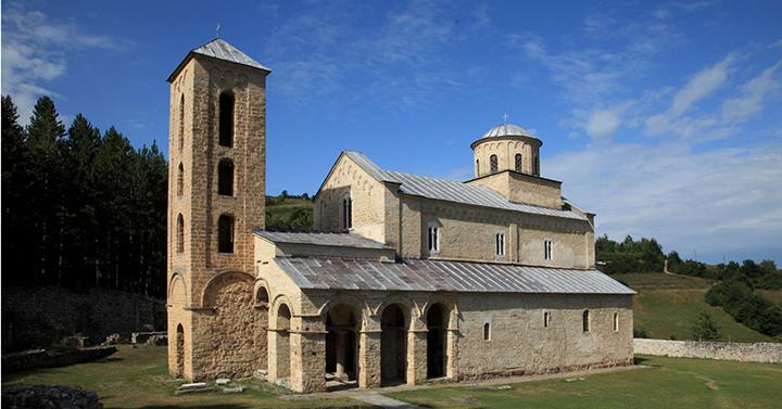 SERBIA -Il monastero di  Sopocani, UNESCO 2