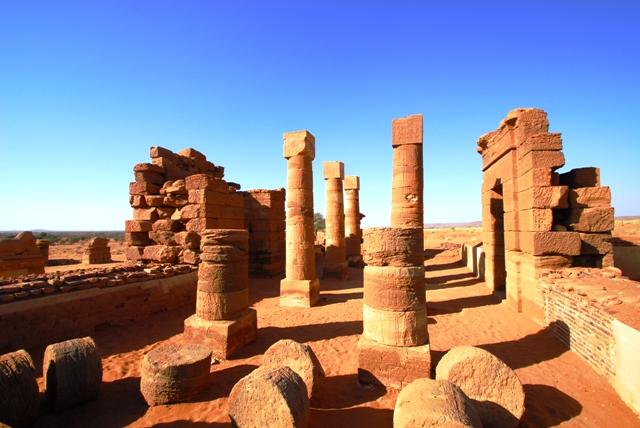 SUDAN_Naga, tempio