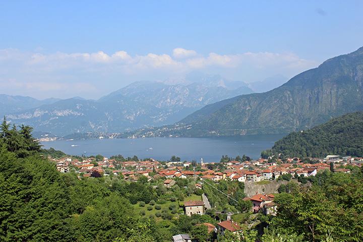 Veduta Sacro Monte Ossuccio copia