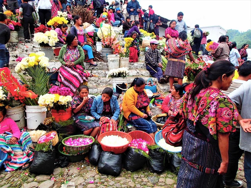 colorato mercato_Guatemala
