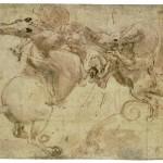 leonardo_da_vinci_cavaliere_che_sfida_un_drago_in_sella_ad_un_cavallo_impennato