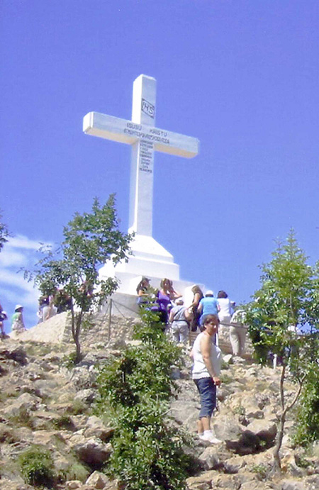med15vm Medjugorie Monte Croce Krizevac copia