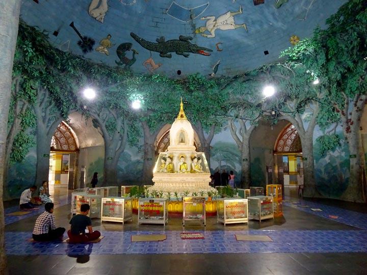 IL PAGODA MAHA WISAYA YANGON mingalar bus viaggio yangon viaggio myanmar emotions magazine rivista viaggi rivista turismo