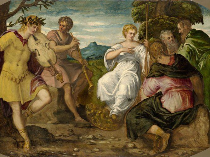 Tintoretto Apollo e Marsia - mostra tintoretto venezia - emotions magazine - rivista viaggi - rivista turismo