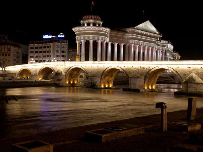 viaggio macedonia - Skopje Museo Archeologico della Macedonia e Ponte della Civilizzazione - emotions magazine - rivista viaggi - rivista turismo