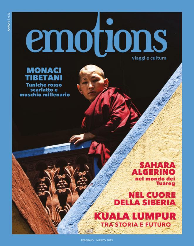 emotions magazine rivista viaggi e turismo febbraio-marzo 2019 anno9 n33