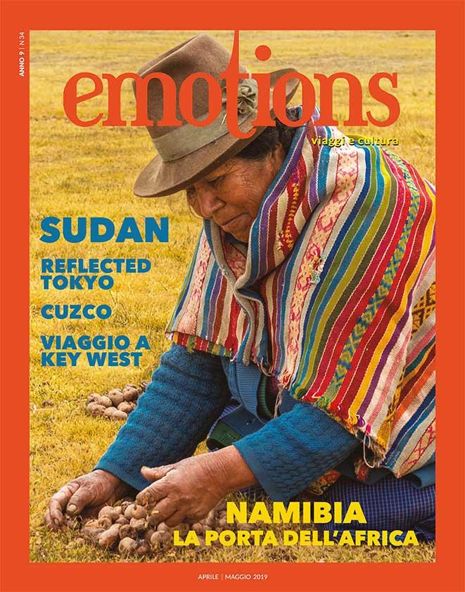 emotions magazine rivista viaggi e turismo febbraio-marzo 2019 anno9 n34