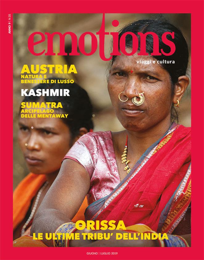 emotions magazine rivista viaggi e turismo giugno-luglio 2019 anno9 n35