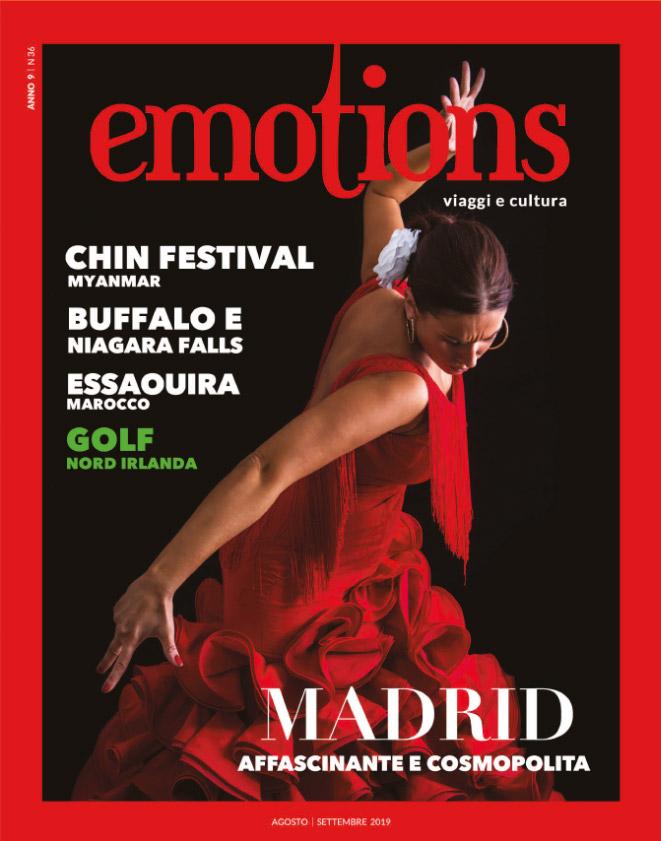 emotions magazine rivista viaggi e turismo agosto-settembre 2019 anno9 n36