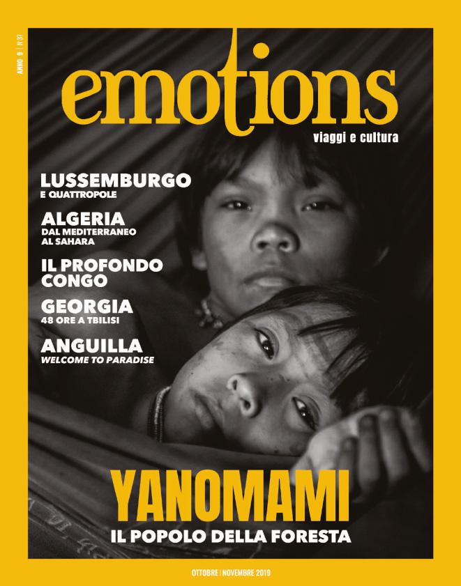 emotions magazine rivista viaggi e turismo ottobre-novembre 2019 anno9 n37